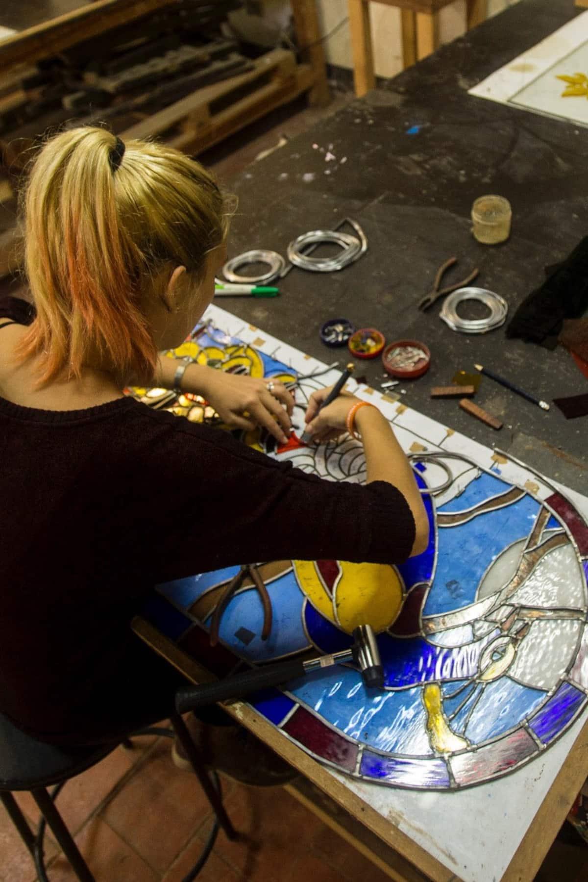 Au Programme : Découvrez l'art des vitraux dans la ville