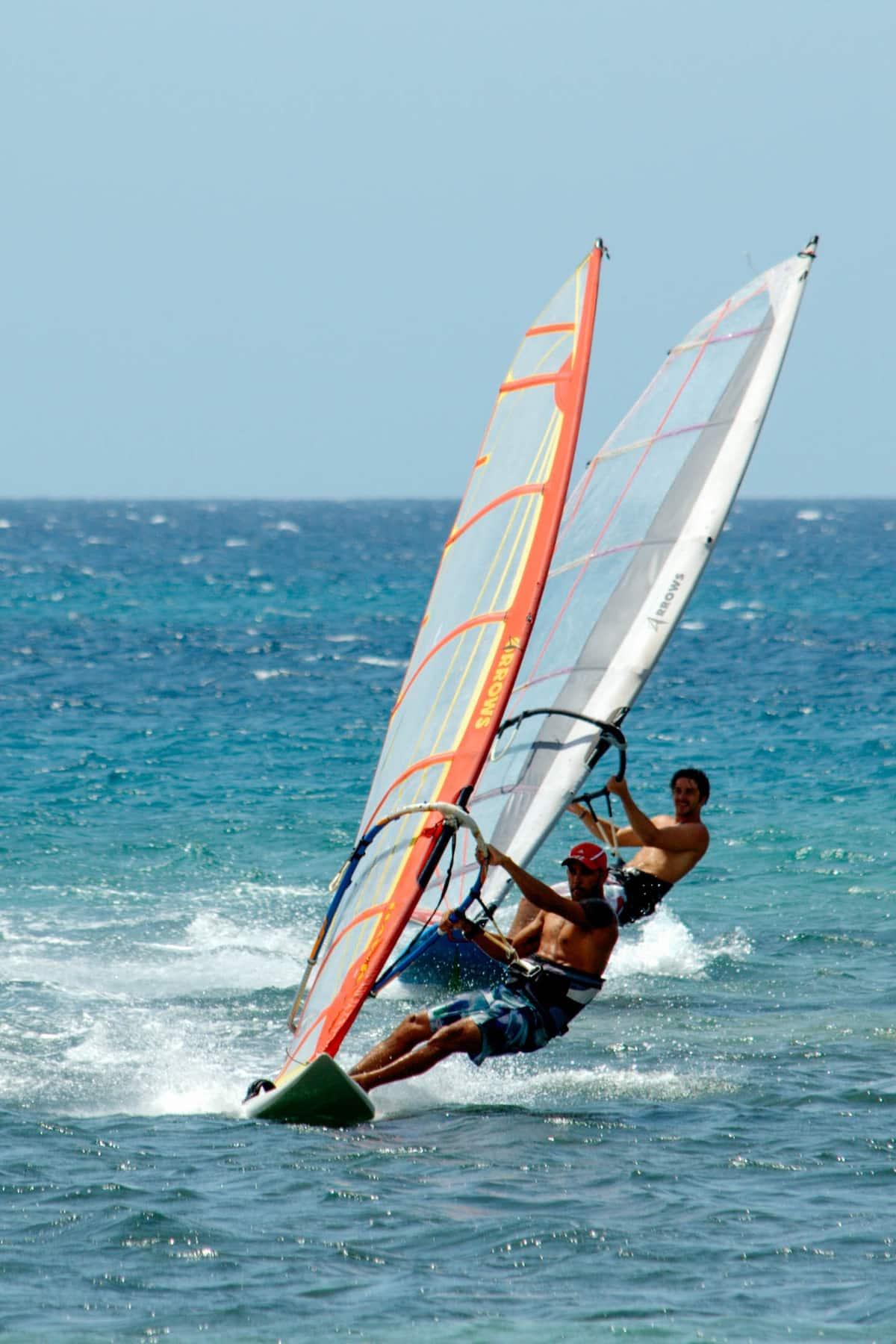 Programme : Planche à voile à La Havane