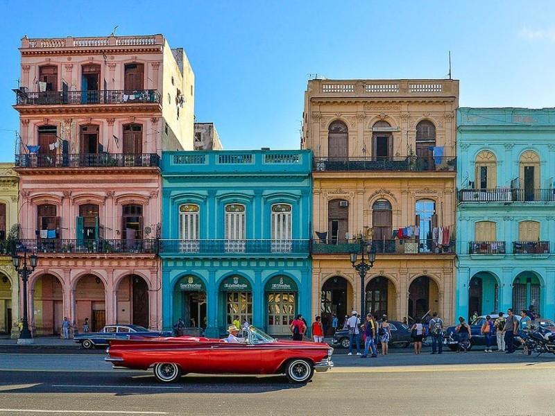 Jour 1 2 3 4 Départ - Paris - La Havane